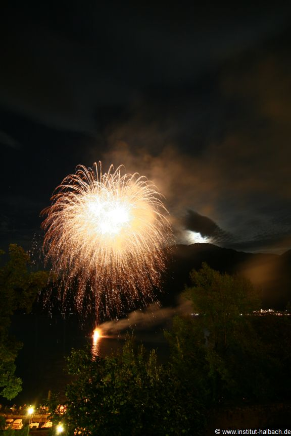 Feuerwerk am 2.9.2012 in Limone