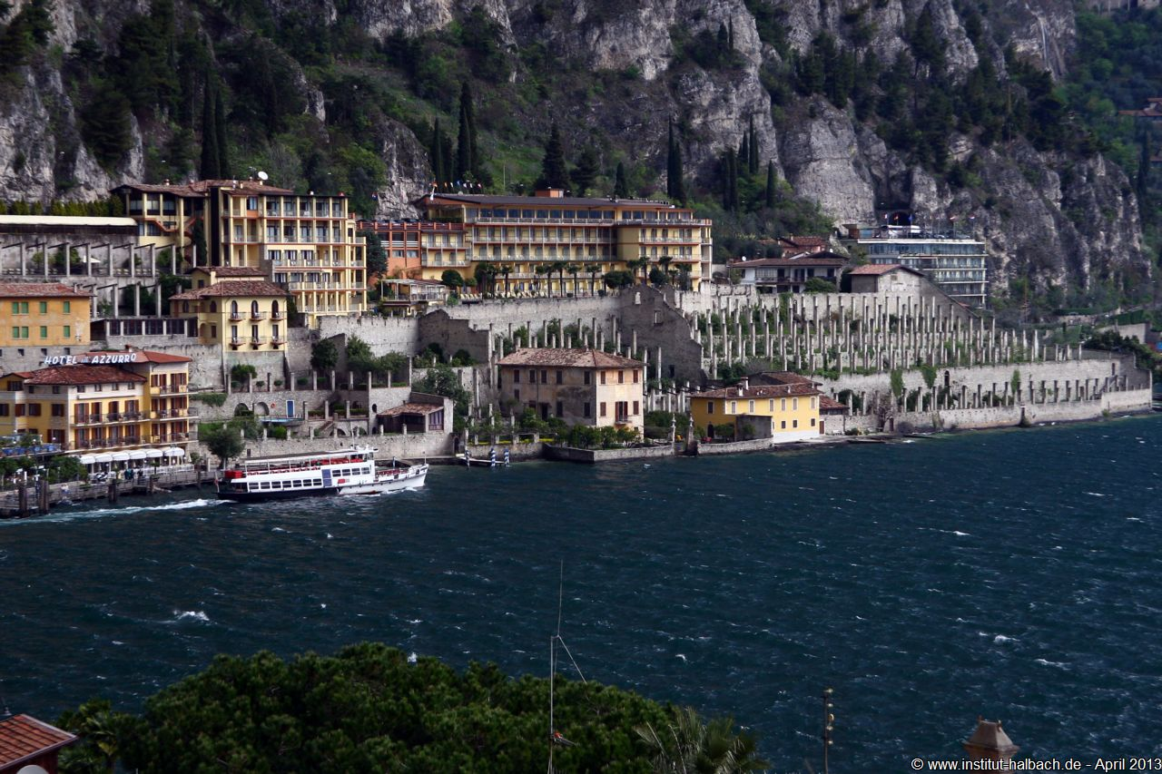 Blick vom Hotel Alla Noce