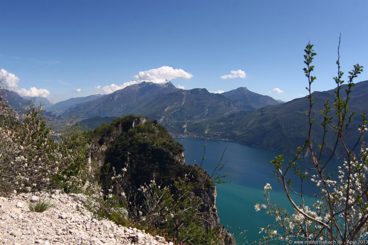 Blick vom Punta dei Larici in Richtung Torbole