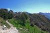 Blick auf den Punta dei Larici