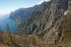 Blick vom Punta dei Larici in Richtung Limone