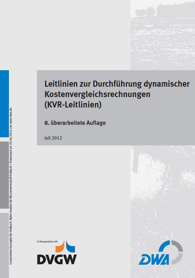 Kategorie: Kostenvergleich - Institut für Wasserwirtschaft Halbach
