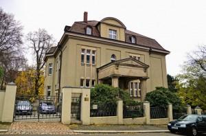 Sitz des Institut für Wasserwirtschaft Halbach
