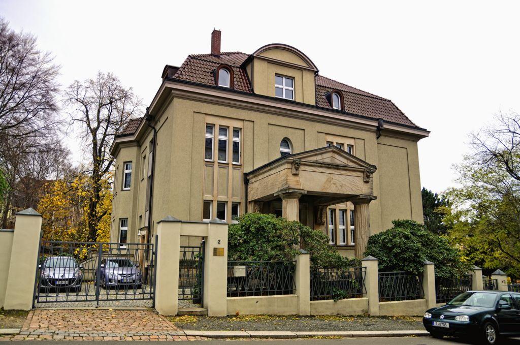 Jugendstilvilla in der Schloßstraße 2 in 08412 Werdau