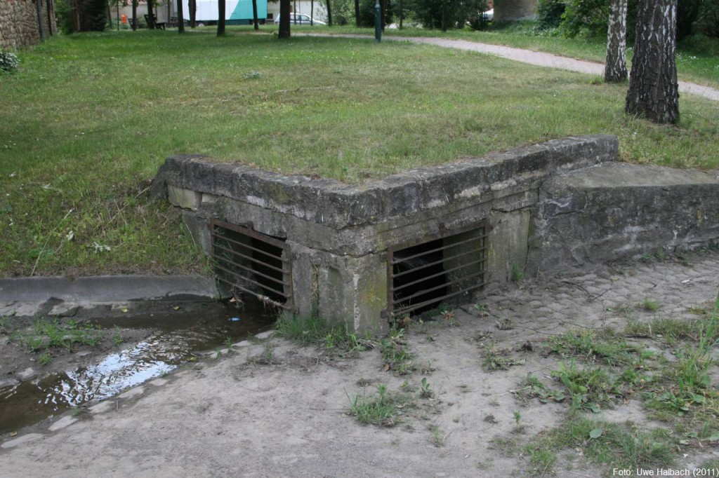 Einlaufbauwerk Schackstedt