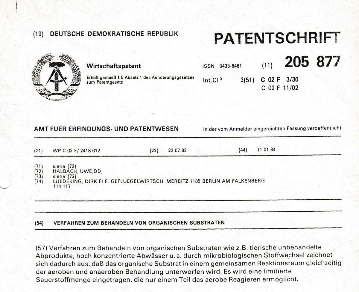 Kategorie: Abwasserbeseitigung - Institut für Wasserwirtschaft Halbach