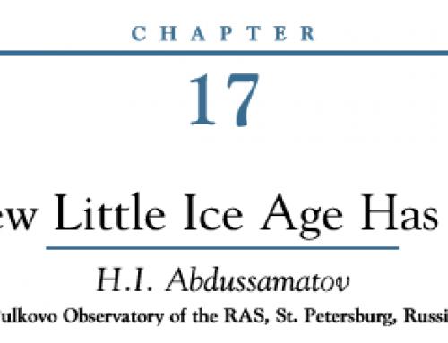 Die kleine Eiszeit hat begonnen?!